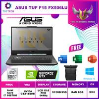 Asus TUF GAMING F15 FX506LU 144Hz - i7 10870 8GB 512ssd GTX1660Ti 4GB