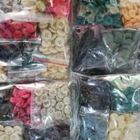 kancing baju kiloan paket murah