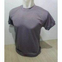 Kaos Security / Satpam Terbaru Warna Coklat Polos Murah / Daleman