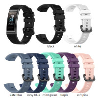 Tali Jam HUAWEI BAND 3 PRO / BAND 4 PRO Silicone Sport Buckle Strap