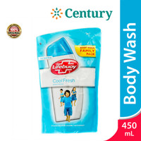 Lifebuoy BW Cool Fresh Refill 450ML / Sabun Mandi / Refill