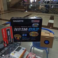 PAKET MOTHERBOARD H81M DS2 GIGABYTE INTEL CORE I5 4570 DDR3 8 GB 12800