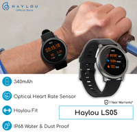 Haylou Solar 1.28 inch TFT Touch Screen Smartwatch LS05 IP68 -English