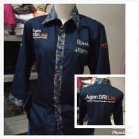 Baju Agen Brilink Pr Kombinasi Batik