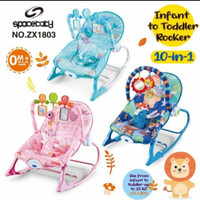 Bouncer/Kursi ayun Space Baby Infant To Toddler Rocker 10 in 1 ZX1803