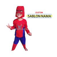 Baju Anak / Stelan / Kostum Spiderman