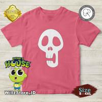 Kaos Hari Koo Shinbi House | Shinbi | 100% Cotton 30s | Ukuran S - 2XL - Merah Muda, S