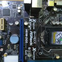 Mainboard intel H61 merk Asrock 1155 murah