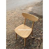 Kursi cafe kursi makan kursi santai kayu jati minimalis