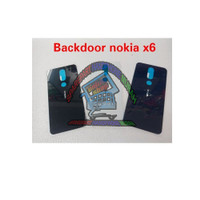 BACKDOOR BACK CASING TUTUP BELAKANG NOKIA 6.1 + PLUS X6 ORIGINAL NEW