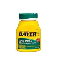 Bayer Aspirin Regimen 81mg Enteric Tab 300 #1 Doctor Recom Made in USA