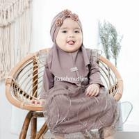 gamis bayi newborn akikah aqiqah baju muslim anak bayi brukat