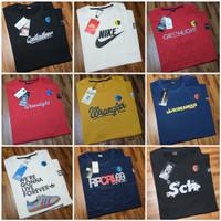 Kaos Pria Cotton Combed /Baju Pria/Kaos Distro/Kaos Keren Bandung