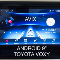 Headunit Android 9 inch OEM Toyota Voxy AVIX AX2AND10X13 Voice Command