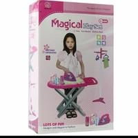 mainan gosokan meja / magical iron playset