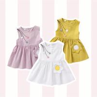 Eggo Dress - Yellow / Terusan Bayi / Baju Bayi