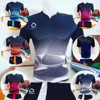 Baju Jersey Olahraga Kaos Futsal Setelan Volly Voli Badminton ORT 02