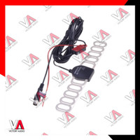 Antena TV Mobil Head Unit Double Din KUPU-KUPU Analog High Quality