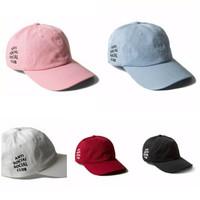 topi baseball anti social social club, fashion wanita pria