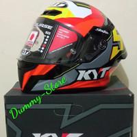 Helm Full Face KYT TT COURSE FLUX JAUME MASIA