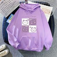Sweater anak perempuan LUCKY BEAR LILAC jaket anak baju anak perempuan