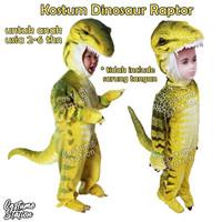 Kostum Dinosaur Raptor / Costume Dinosaurus Yellow T rex