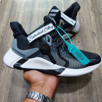 Sepatu Adidas Alphabounce Instinct M 2020 Black White