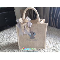 Tas Tenteng Kanvas Bordir Souvenir Birthday Goodie Bag - Baby Hamper