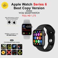 IWO 15 W26 Smartwatch Apple Jam tangan pintar mirip Apple layar bening
