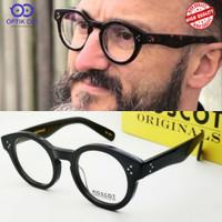 frame kacamata pria bulat moscot grunya premium grade original