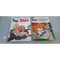 Komik Asterix Bayi Asterix, Menyebrang Samudra