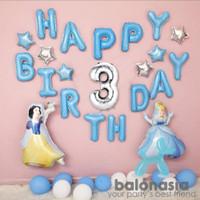 Balonasia princess cinderella snow white set - 1