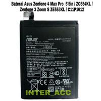 BATERAI ASUS ZENFONE 4 MAX PRO 5.5IN ZENFONE 3 ZOOM S ORIGINAL ZE553KL