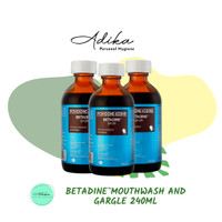 Betadine Mouthwash and Gargle 240ml