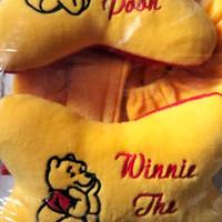 bantal mobil 3 in 1 winnie the pooh