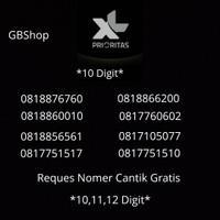 XL Prioritas Unlimited Free Nomer Cantik 10 Digit