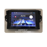 Head Unit Doubledin Android 9 inch Toyota Fortuner Avix AX2AND10X13