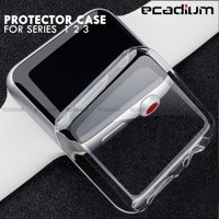 Apple Watch iWatch Protector Case Silicone for Series 1 2 3 Original - Seri 123 - 38MM