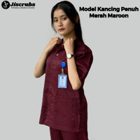 Baju Jaga Kancing Baju Dokter Baju Bidan Baju Perawat Oka Rumah Sakit