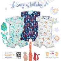 Libby Baby Setelan Pendek Baju Kaos Oblong Bayi Anak S M L 2L XL XXL