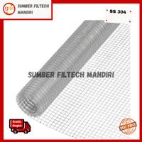 Kawat RAM / Loket Stainless Steel 201 (6mm, 10mm, 15mm) Lebar 1 Meter
