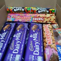9 coklat hampers box 3 cadbury milk jumbo hadiah valentine anniversary