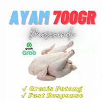 Ayam utuh / karkas / potong merk BEST MEAT 700 gr