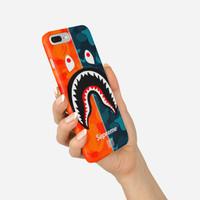 Hard Case Motif Supreme Bape For iPhone 7 Plus - 8 Plus