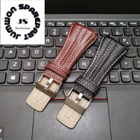 Strap Tali Jam Tangan Police Kulit Leather 38mm High Quality