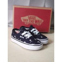 Sepatu Anak Vans Authentic Motif Snoopy Grade Original BNIB