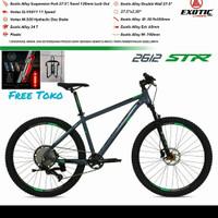 Mtb 27.5 Exotic 2612 Alloy Str Rem Oli Hidrolik 11 Speed