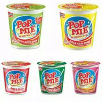 POP MIE Cup 75 gram All Varian - Baso Soto Kari Ayam Bawang