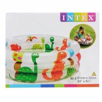 kolam renang intex dino 3 ring uk 61 cm x 22 cm