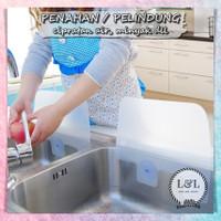 Pelindung Wastafel Cipratan Air Papan Penahan Kompor Anti Minyak